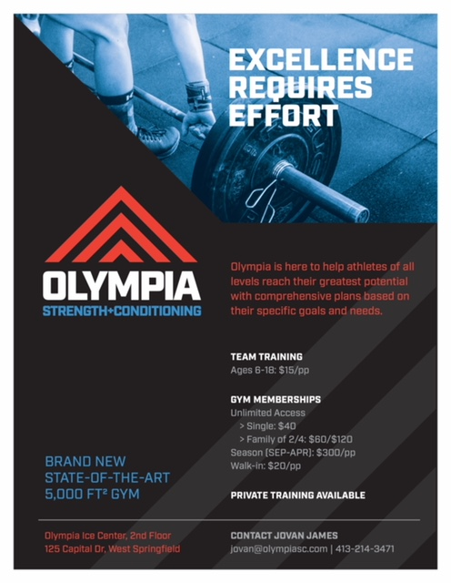 Olympia strength and conditioning